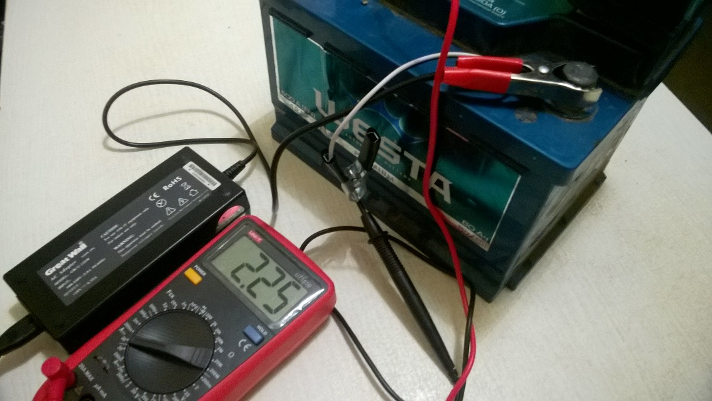 Зарядное устройство из блока питания от ноутбука